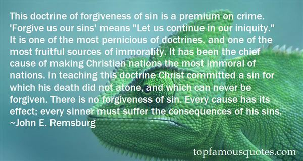 Quotes About Consequences Of Sin