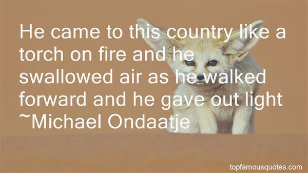 Quotes About Country Bonfires