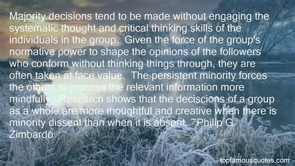 Quotes About Creative And Critical Thinking
