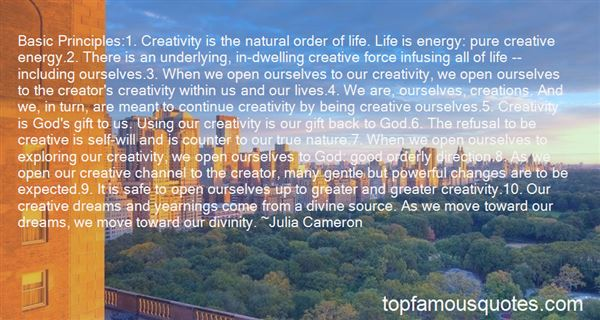 Quotes About Creativity And Nature