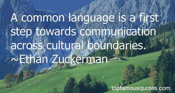 Quotes About Cross Cultural