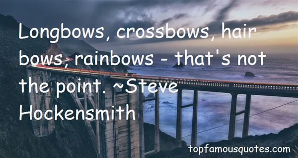 Quotes About Crossbows