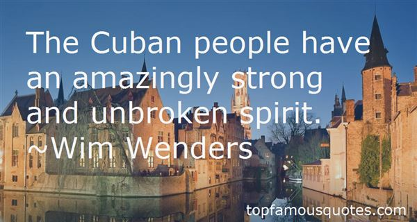 Quotes About Cuban People
