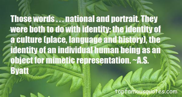 Quotes About Culture Identity