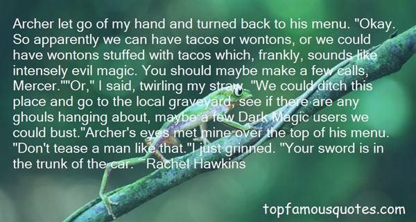 Quotes About Dark Magic