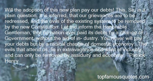 Quotes About Debt Of Honor