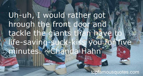Quotes About Defeating Giants