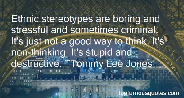 Quotes About Defying Stereotypes