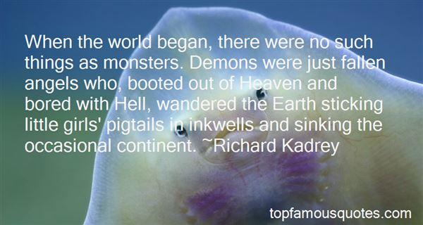 Quotes About Demons On Earth