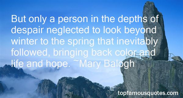 Quotes About Depths Of Despair