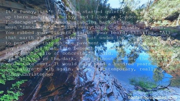 Quotes About Destroying Mother Nature