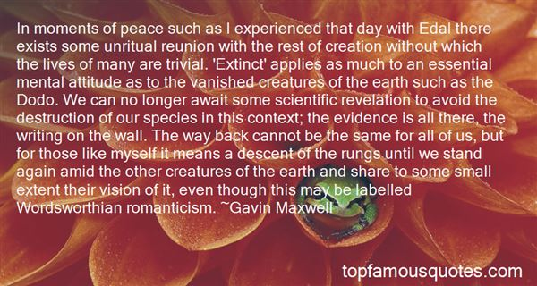 Quotes About Destruction Of Earth