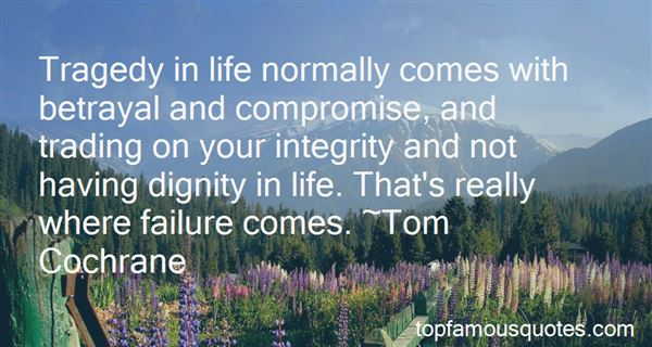 Quotes About Dignity And Integrity