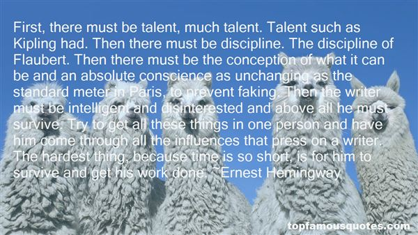 Quotes About Discipline In Work