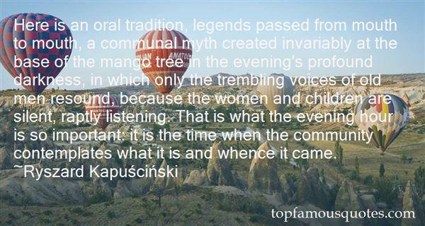 Quotes About Distinctive Voices