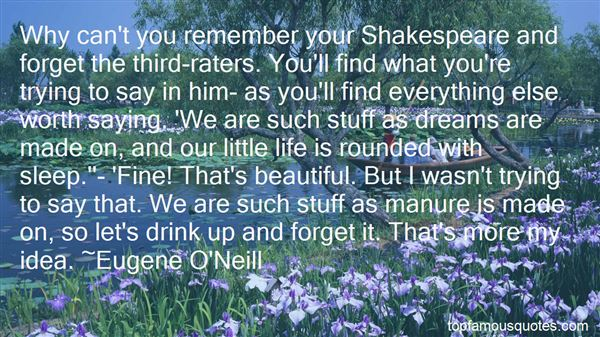 Quotes About Dreams Shakespeare