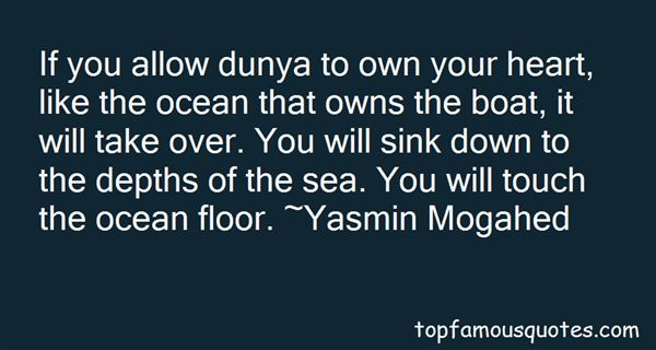 Quotes About Dunya And Akhirah