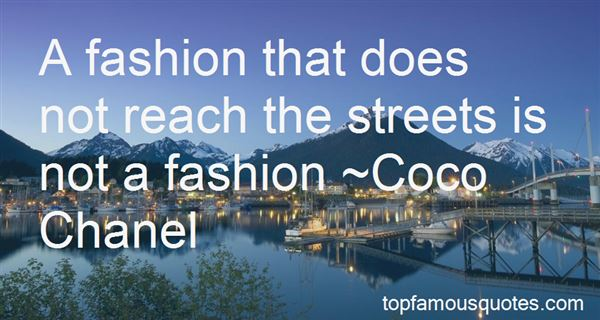 Quotes About Edgy Fashion