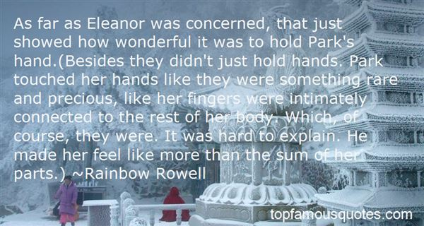 Quotes About Eleanor And Park