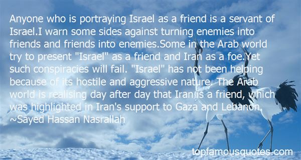 Quotes About Enemies Turning Into Friends