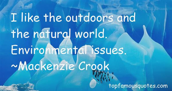 Quotes About Environmental Conservation