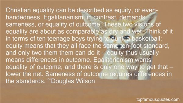 Quotes About Equality And Equity
