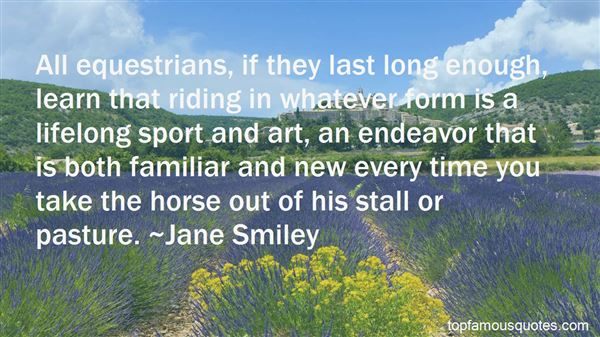 Quotes About Equestrians