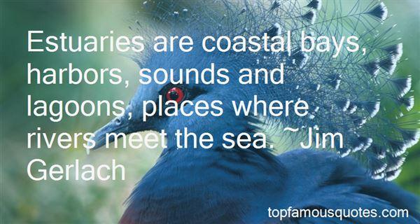 Quotes About Estuaries