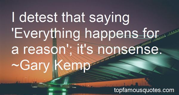 Quotes About Everything Happens