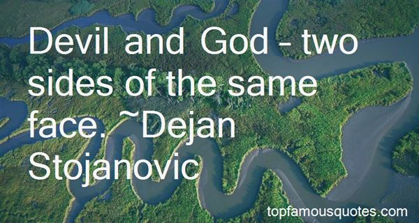 Quotes About Evil And God