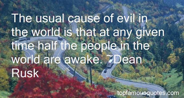 Quotes About Evil Being Defeated