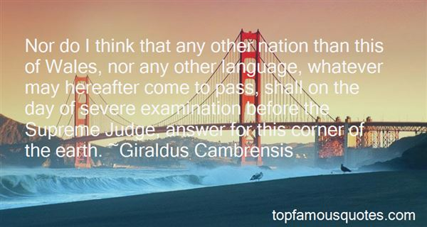 Quotes About Examination Day