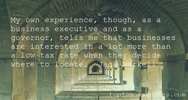Quotes About Experience In Business