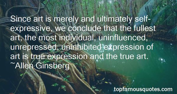 Quotes About Expression And Art