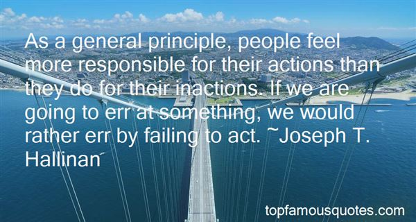 Quotes About Failing To Act
