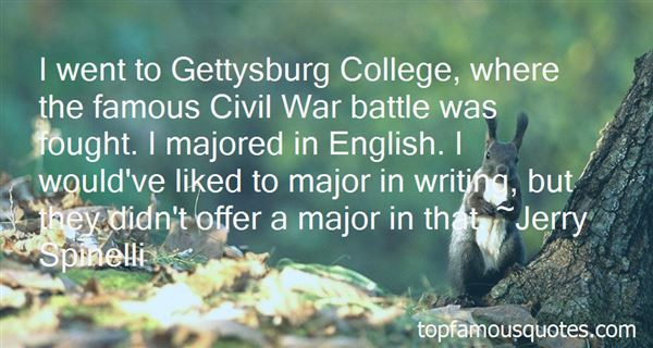 Quotes About Famous Gettysburg