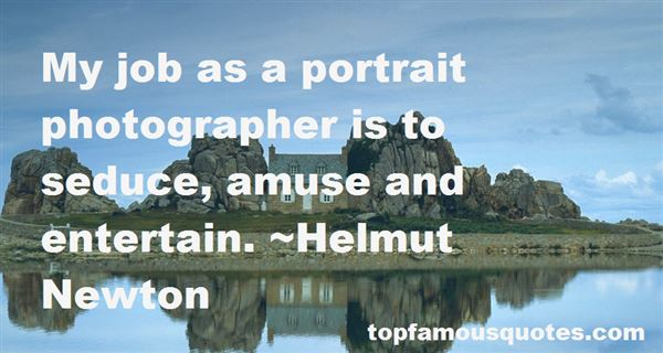 Quotes About Famous Portrait Photography