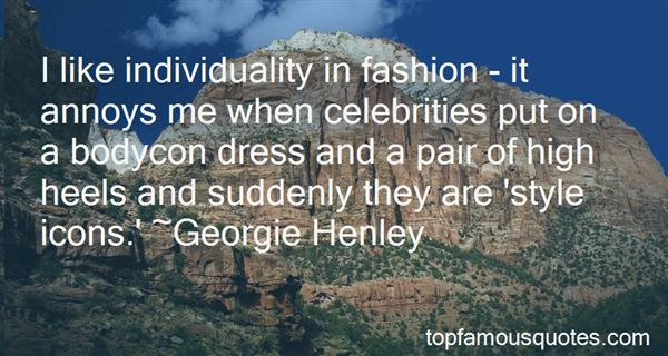 Quotes About Fashion And Individuality