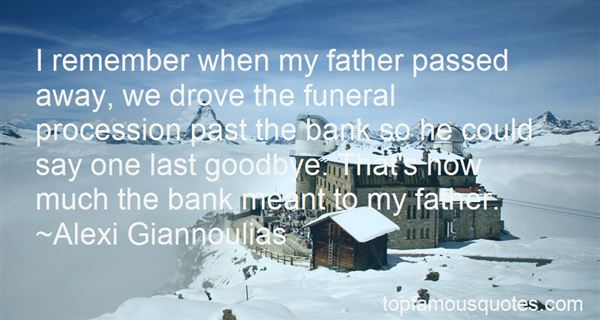 Quotes About Father Pass Away