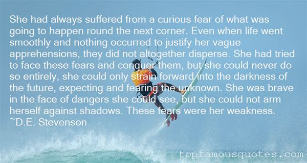 Quotes About Fearing The Unknown