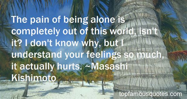 Quotes About Feelings Alone