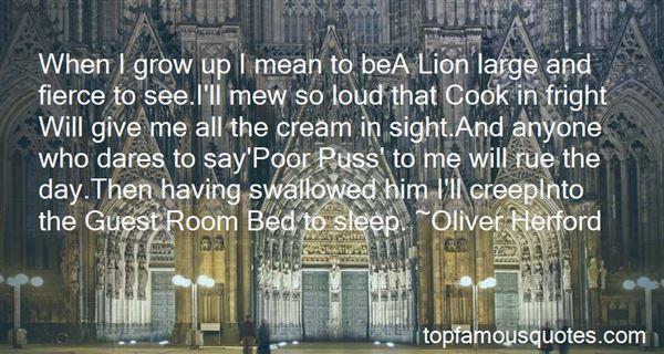 Quotes About Fierce Lion