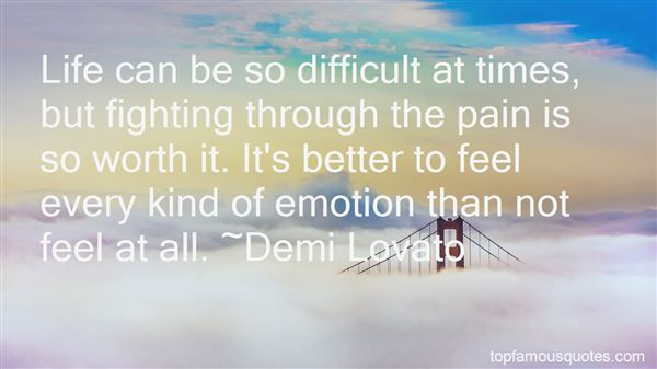 Quotes About Fighting Through Pain
