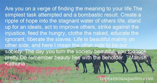 Quotes About Finding Beauty In Life
