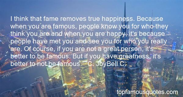 Quotes About Fleeting Fame
