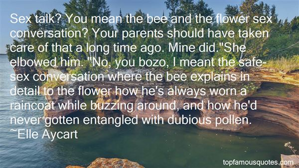 Quotes About Flower And Bee
