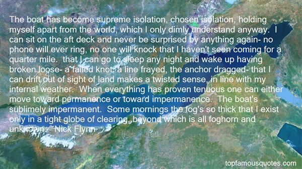 Quotes About Fog Clearing