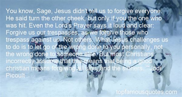 Quotes About Forgiving Sinners