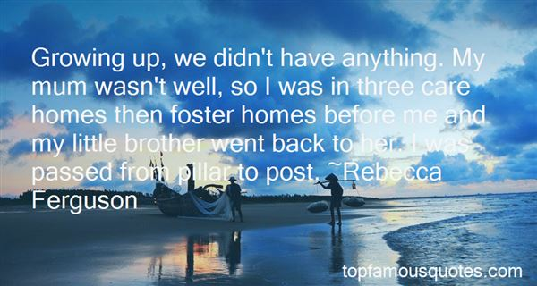 Quotes About Foster Homes