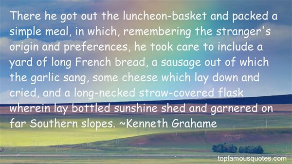 Quotes About French Bread
